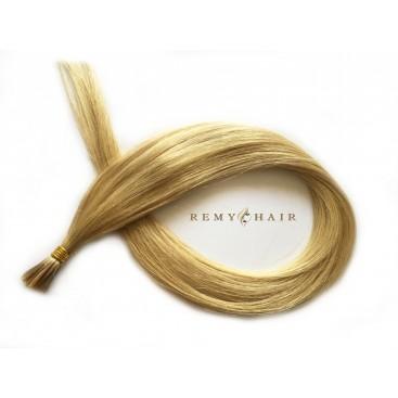 Pasma euro 22-beżowy blond - 60cm, 1g, pod ringi - 20szt