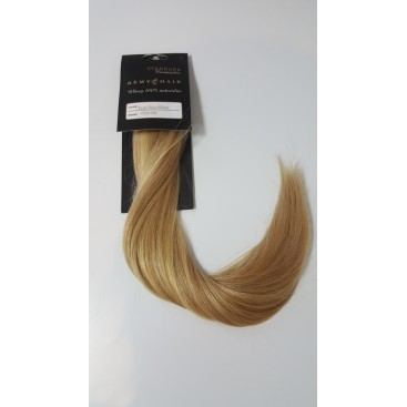 Tape in- 24/18 - blond/średni blond - 40cm, 50gram