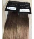 Tape in- OMBRE 6/18 jasny brąz/średni blond - 50cm, 50gram
