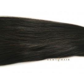 Clip-In - 1B-bardzo ciemny brąz - 50 cm, 160 gram
