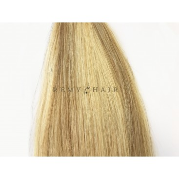 Clip-In - 24/18-blond/średni blond - 35 cm, 70 gram