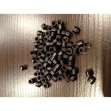 Ringi z gwintem - rozmair M - czarny - 100 sztuk