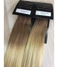 Tape in- OMBRE 14/22 karmelowy blond/beżowy blond - 50cm, 50gram