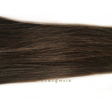 Clip-In - 2-ciemny brąz - 50 cm, 160 gram
