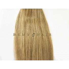 Clip-In - 18-średni blond - 35 cm, 70 gram