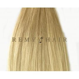 Clip-In Ombre 18/60 - średni blond/jasny blond - 35 cm, 70 gram
