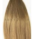 Clip-In Ombre 6/18 - jasny brąz/średni blond - 40 cm, 120 gram