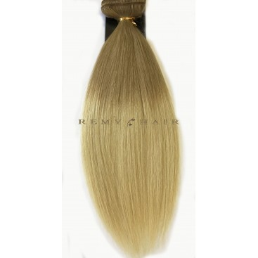 Clip-In Ombre 14/22 - karmelowy blond/beżowy blond - 40 cm, 120 gram