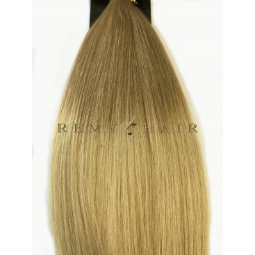 Clip-In Ombre 14/22 - karmelowy blond/beżowy blond - 45 cm, 70 gram