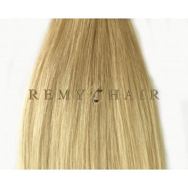 Clip-In Ombre 18/60 - średni blond/jasny blond - 45 cm, 70 gram