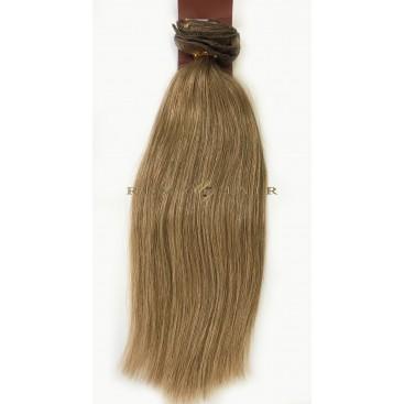 Clip-In - 10-ciemny blond - 56 cm, 100 gram