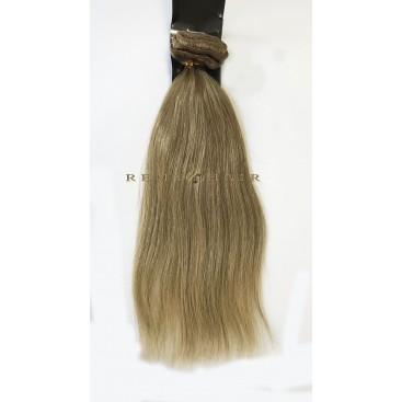 Clip-In - 14-karmelowy blond - 56 cm, 100 gram