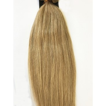 Clip-In - 18-średni blond - 56 cm, 100 gram