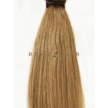 Clip-In - 27-miodowy blond - 56 cm, 100 gram