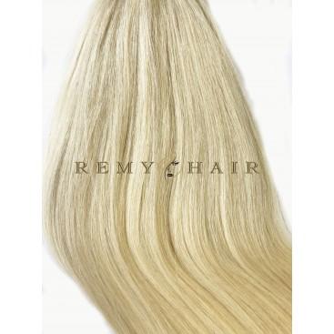 Clip-In - 60-bardzo jasny blond - 56 cm, 100 gram