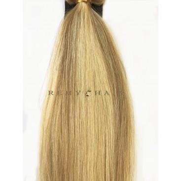 Clip-In - 24/18-blond/średni blond - 56 cm, 100 gram