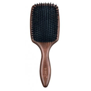 Szczotka paddle drewaniana włosie dzik 100% / SIBEL DECOPAD