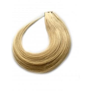 Tape in rosyjskie - 22- jasny blond - 40cm, 25gram