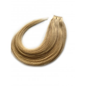 Tape in rosyjskie - 16 - beżowy blond - 55 cm, 25gram