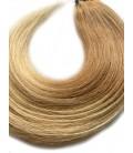 Tape in rosyjskie - OMBRE 18/22 średni blond/jasny blond - 55 cm, 25gram