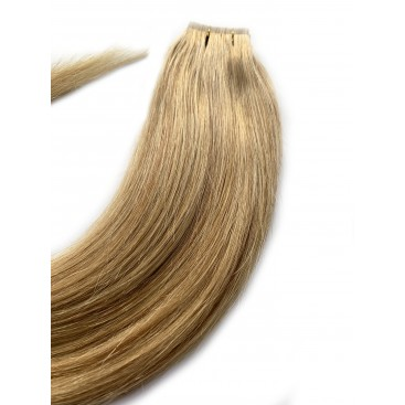Clip-in rosyjskie - 16-beżowy blond - 40cm, 100gram