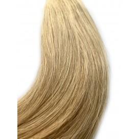 Clip-in rosyjskie - 613/16 - bardzo jasny blond/beżowy blond - 40cm, 100gram