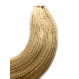Clip-in rosyjskie - 22-jasny blond- 55cm, 140gram