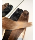 Clip-in rosyjskie - OMBRE 18/22 - średni blond/jasny blond - 40cm, 100gram