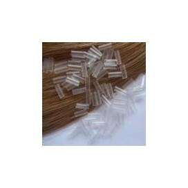 Tulejki termokurczliwe przeźroczyste - 100sztuk