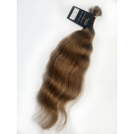 124.Kitka - 49 cm - 41 gram Włosy Słowiańskie - naturalne/niefarbowane