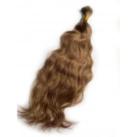 Włosy rosyjskie w kitce 55cm 100g - 6 - jasny brąz