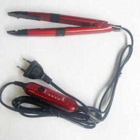 Nowa zgrzewarka do przedłużania włosów, z regulacją temperatury