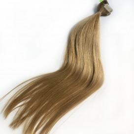 Tape-In Słowiańskie 45 cm - 25 gram -Średni blond - naturalne/niefarbowane