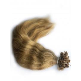 Włosy słowiańskie pofarbowane - mini zgrzewy - ok. 45 cm, 95g